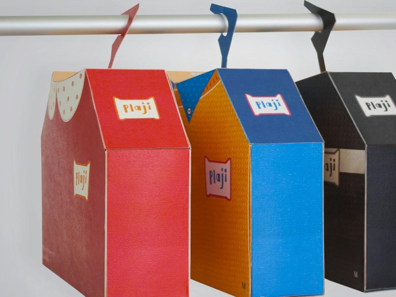 بسته بندی خلاقانه پوشاک