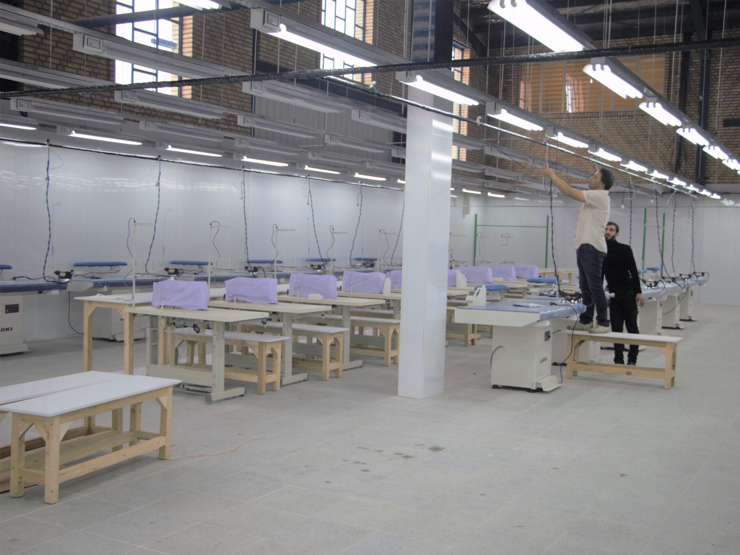 بررسی های اولیه برای راه اندازی تولیدی پوشاک