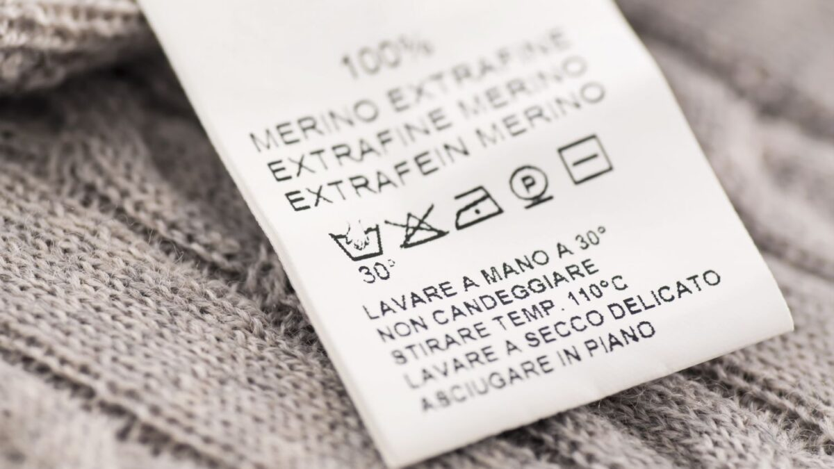 مفهوم برچسب های بین المللی لباس؛ برچسب های لباس چه معنایی دارند؟
