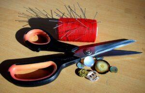 قیچیهای مورد استفاده در خیاطی