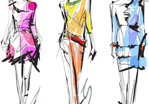 فیلم آموزش طراحی لباس