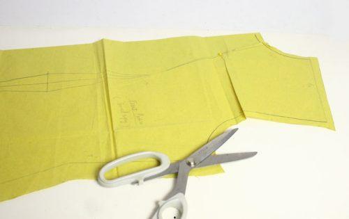 روش الگوبرداری لباس تولیدی ها