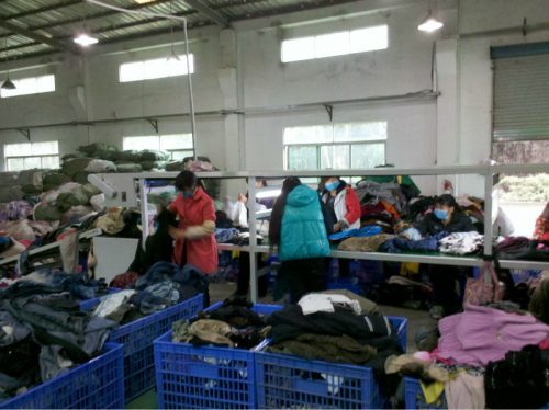 used_recycling_clothing_market_in_china_buy