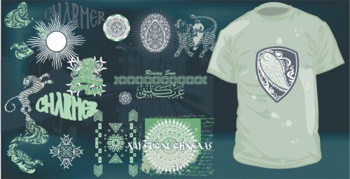 تی شرت و طراحی چاپ تی شرت