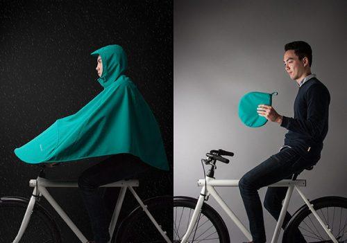 ایده تولید بارانی برای موتورسوار و دوچرخه سوار