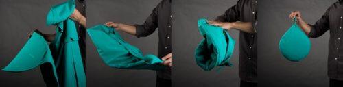 clothing cover rain idea