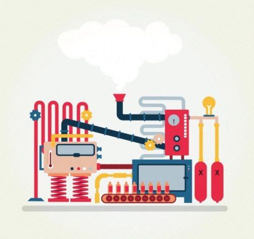 ماشین آلات تولید لباس