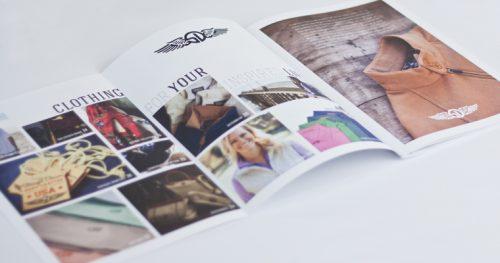 کاتالوگ و طراحی ژورنال لباس