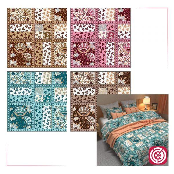 پارچه ملحفه نساجی طوبی - طرح کوشا
