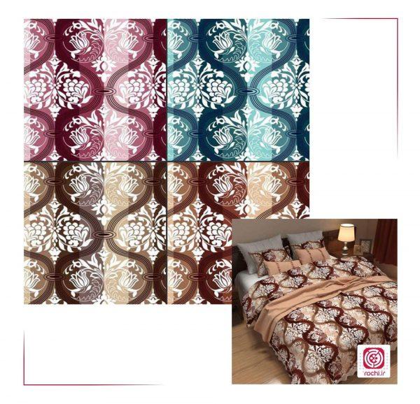 پارچه ملحفه نساجی طوبی - طرح جام