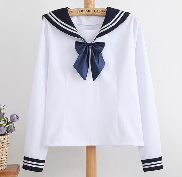 sailor neckline