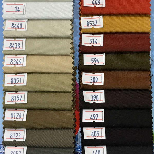 پارچه کجراه نساجی فدک - گروه رنگی سه