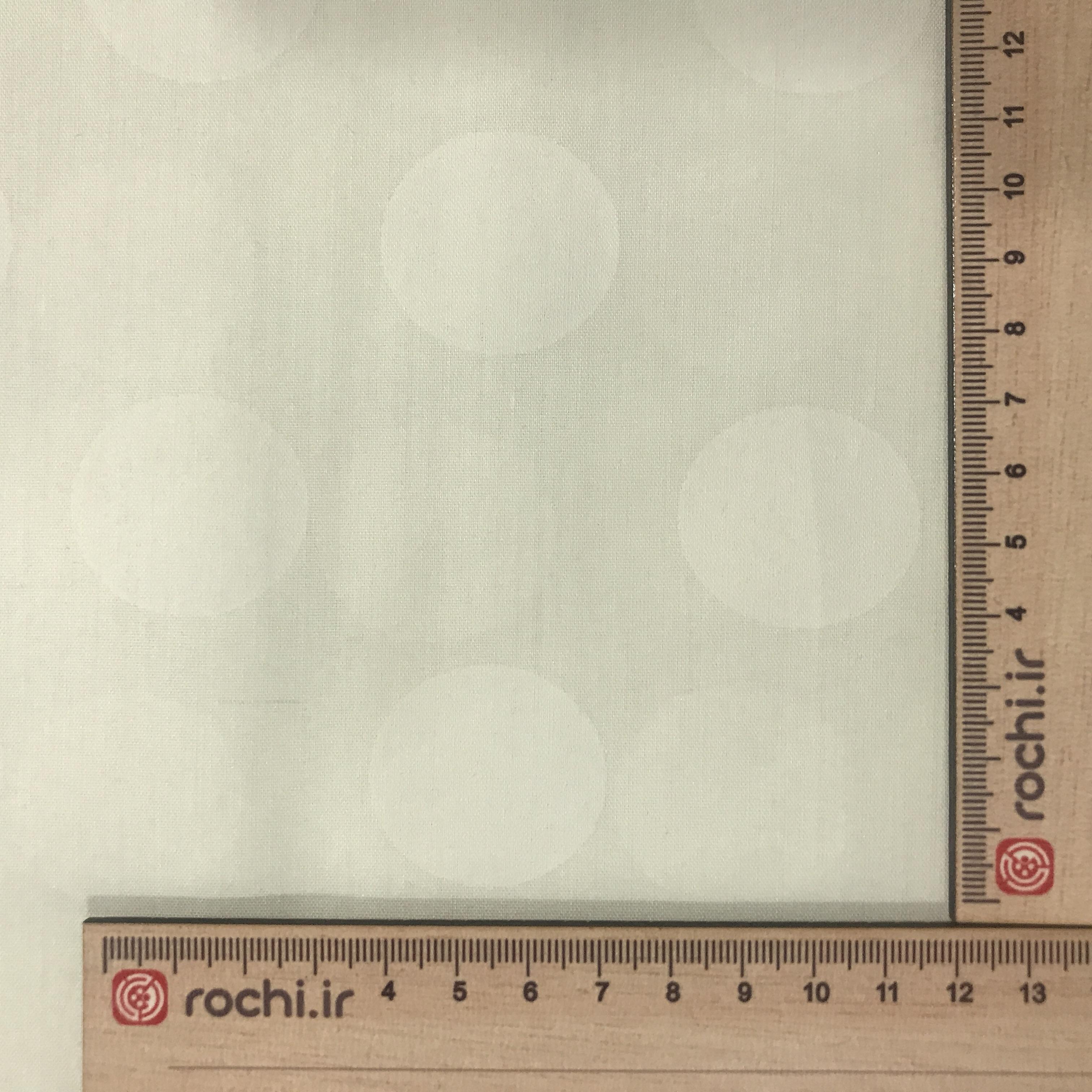 پارچه تترون خال دار عرض 3 متر