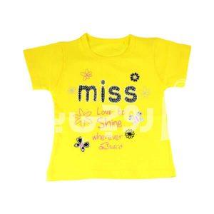 تی شرت دخترانه ساینا