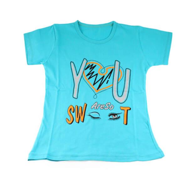 تی شرت دخترانه درنا