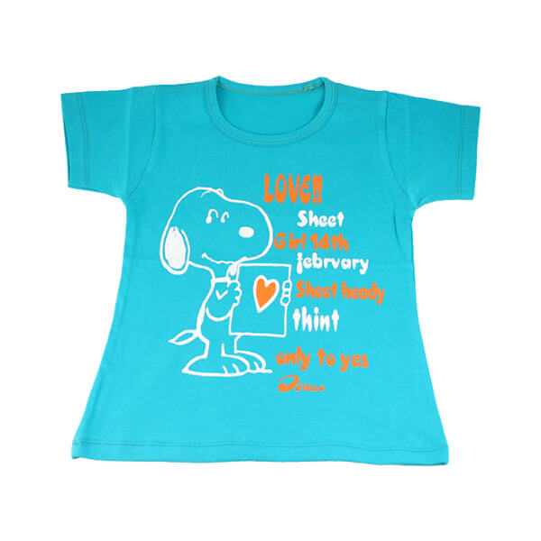 تی شرت دخترانه تارا