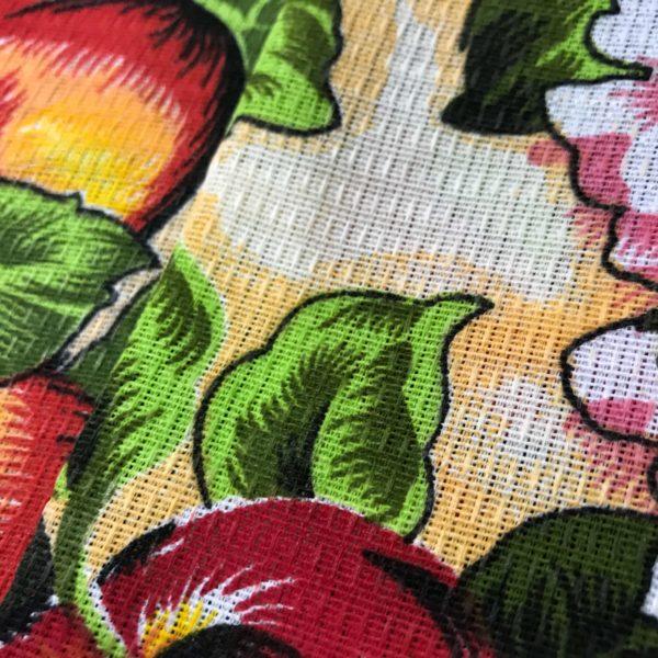 پارچه دستمالی (زنبوری) جنس فلامنت پنبه - طرح هلو