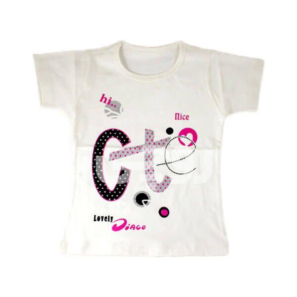 تی شرت دخترانه cte