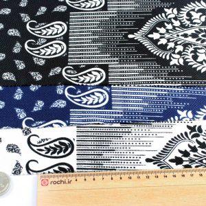 پارچه دیور چاپی طرح طاووسی