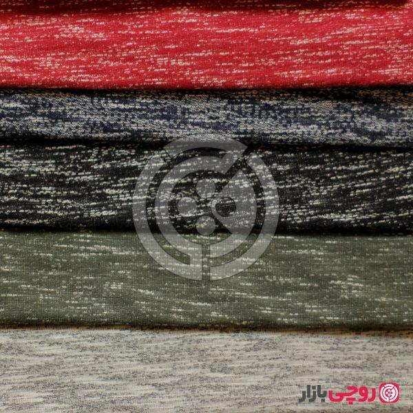 پارچه دورس سه نخ پنبه رنگی