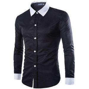 الگوی پیراهن اندامی مردانه