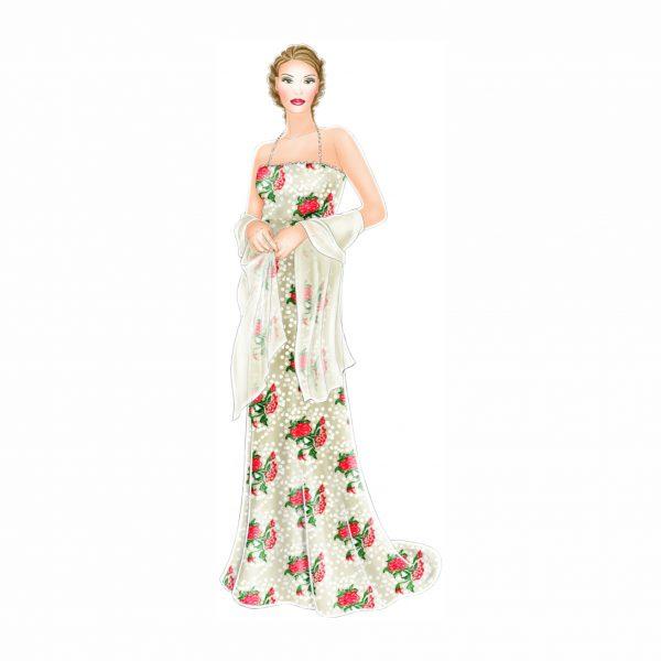 الگوی لباس شرلی