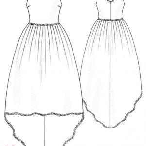 الگوی لباس ربکا