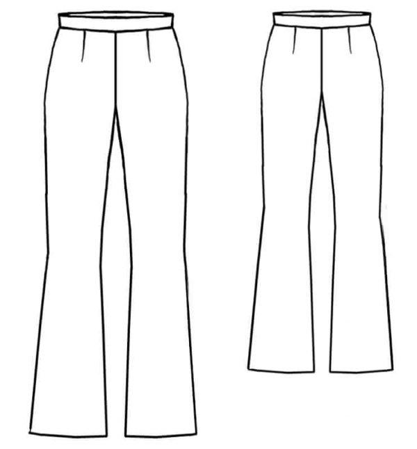 پکیج ۵ تایی الگوی شلوار رسمی جسیکا