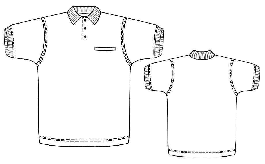 فایل الگوی کت تک پسرانه pdf محصولات - روچی