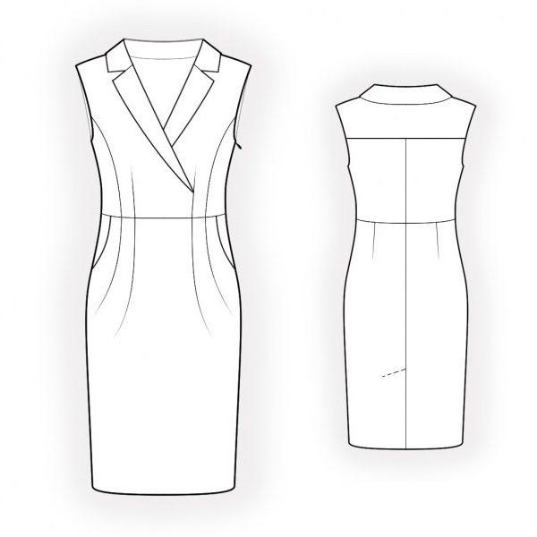 الگوی لباس ایزابلا