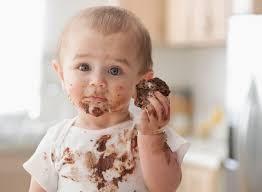 لکه شکلات