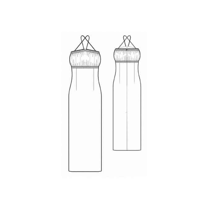 پکیج ۷ تایی الگوی لباس مجلسی سیندرلا