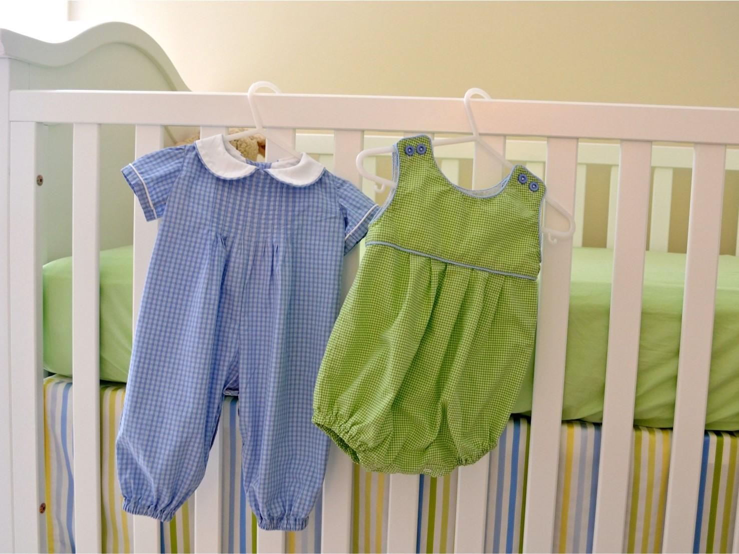 الگوی لباس نوزاد