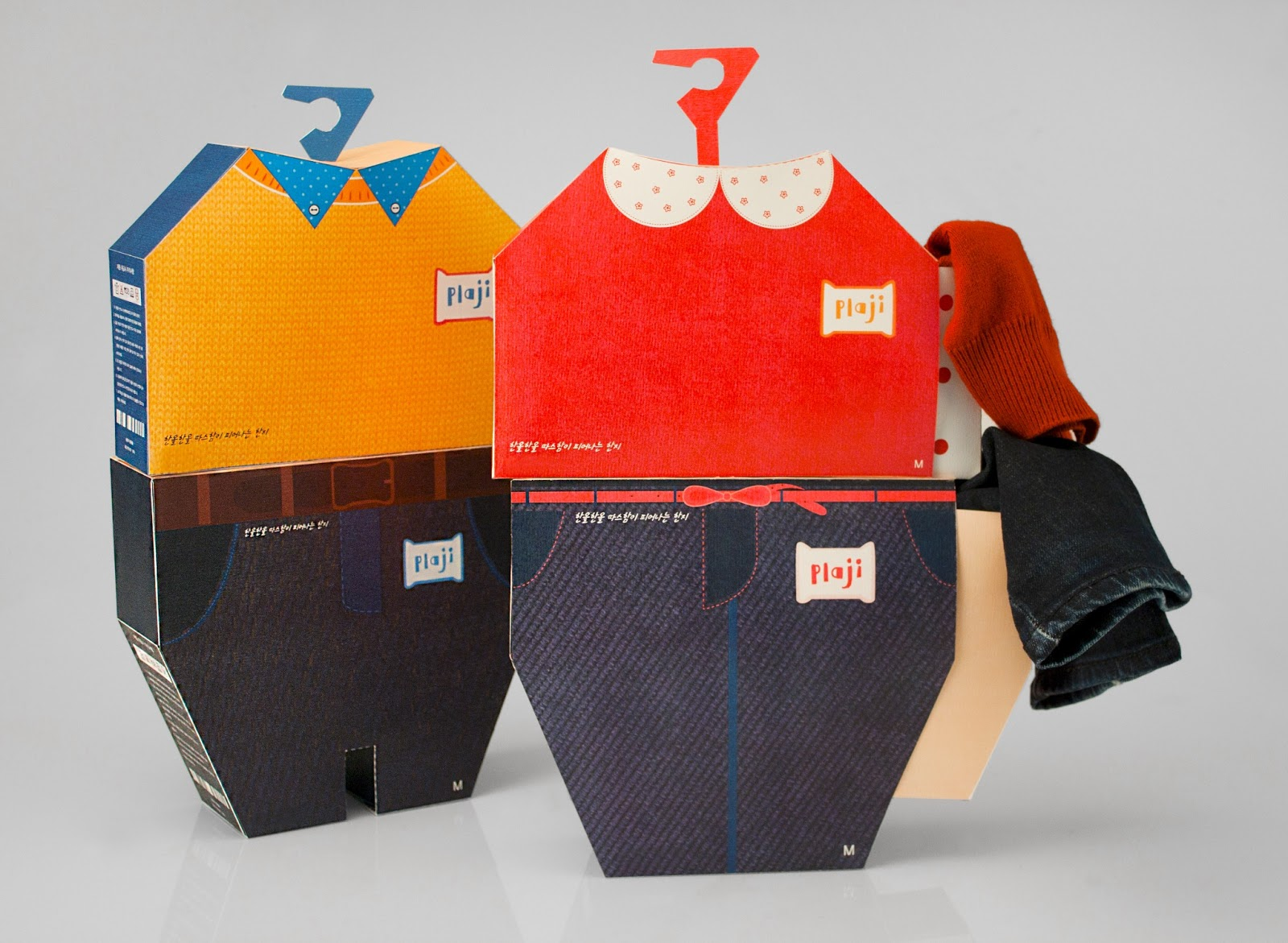 clothes packaging