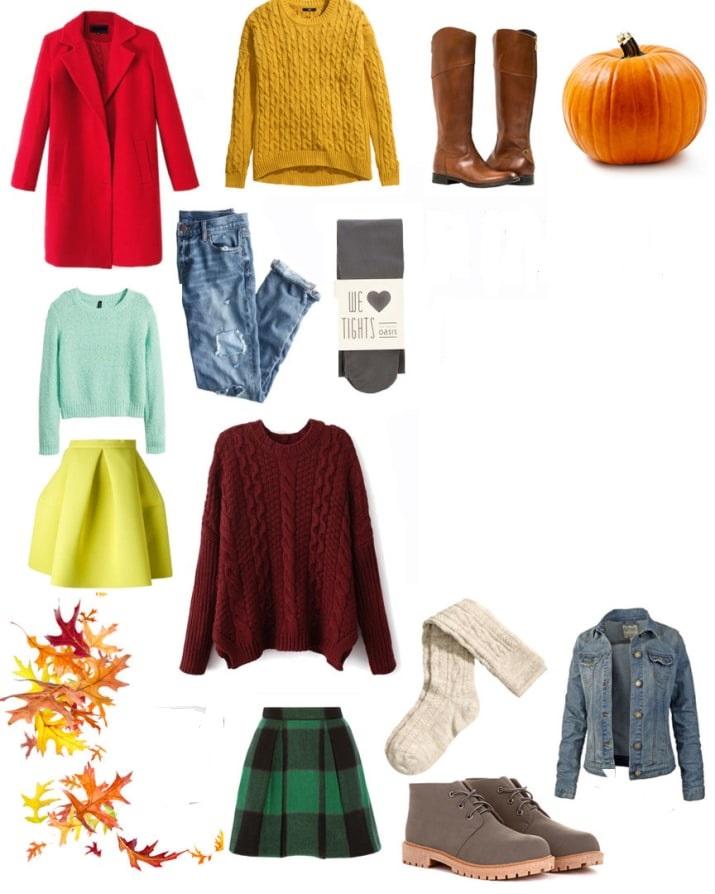 تناسب رنگ در ست کردن لباس