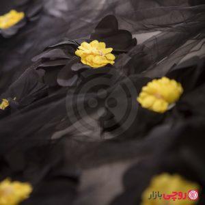 پارچه طرح گل آفتاب گردان
