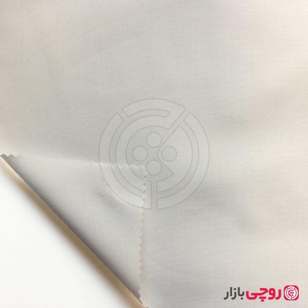 پارچه تترون سفید برفی