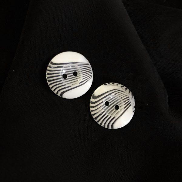 دکمه صدفی حصیری (بسته ۵۰۰ عددی)