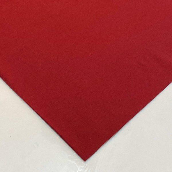 پارچه لنین قرمز قواره 1.5 متری