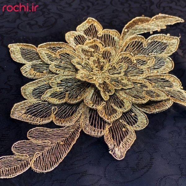 اپلیکه گل رومی 110