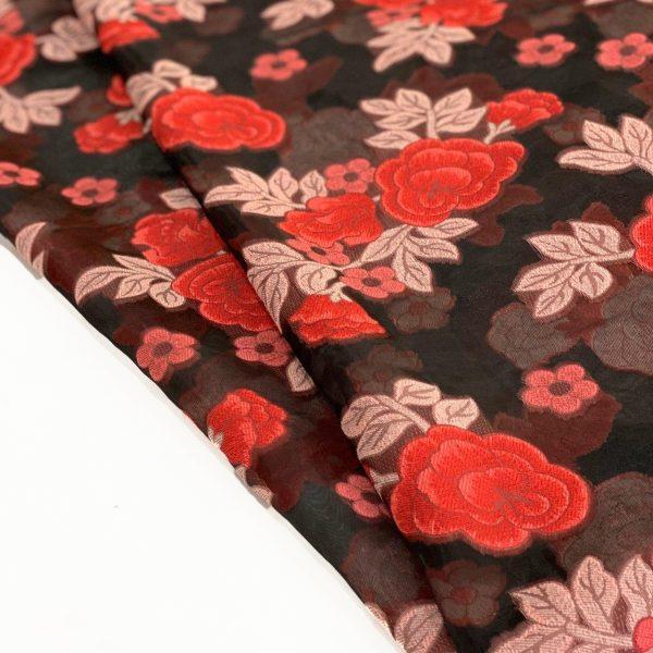 پارچه یاخما گلدار لامیا