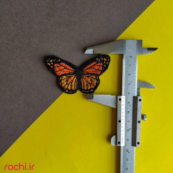 اپلیکه پروانه رنگی 172
