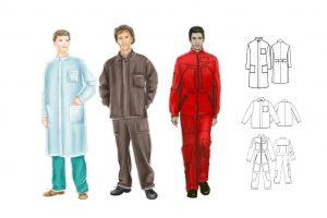 الگوی لباس کار