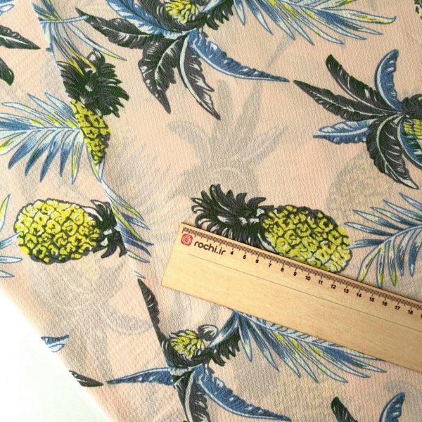 پارچه کرپ آناناس
