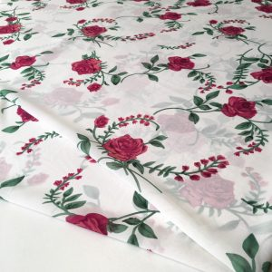 پارچه حریر گلدار نیلرام