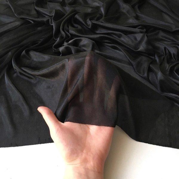 پارچه ژرسه مشکی