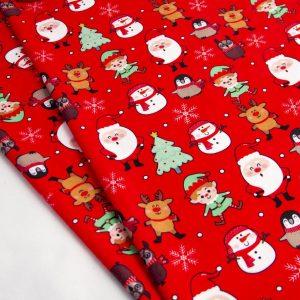 پارچه سوییت طرح زمستانه کریسمس
