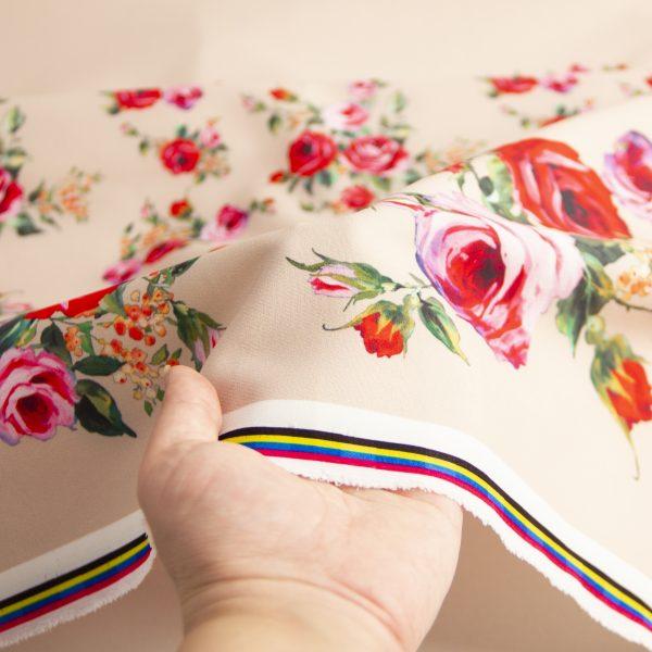 پارچه مازراتی گل افروز