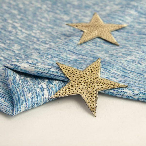 اپلیکه ستاره پولکی