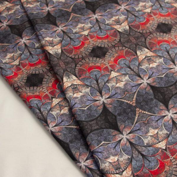 پارچه مخمل سوییت چاپی گلرخسار